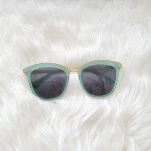 BONLOOK Mint Green Matte Sunglasses